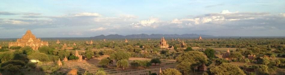 ミャンマー、パガンの風景