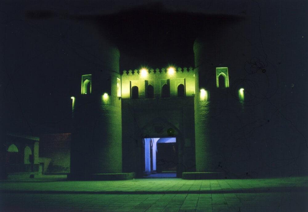 イチャン・カラの入り口(ヒヴァ) 【ウズベキスタン(ヒヴァ)】【ウズベキスタン】【世界遺産】