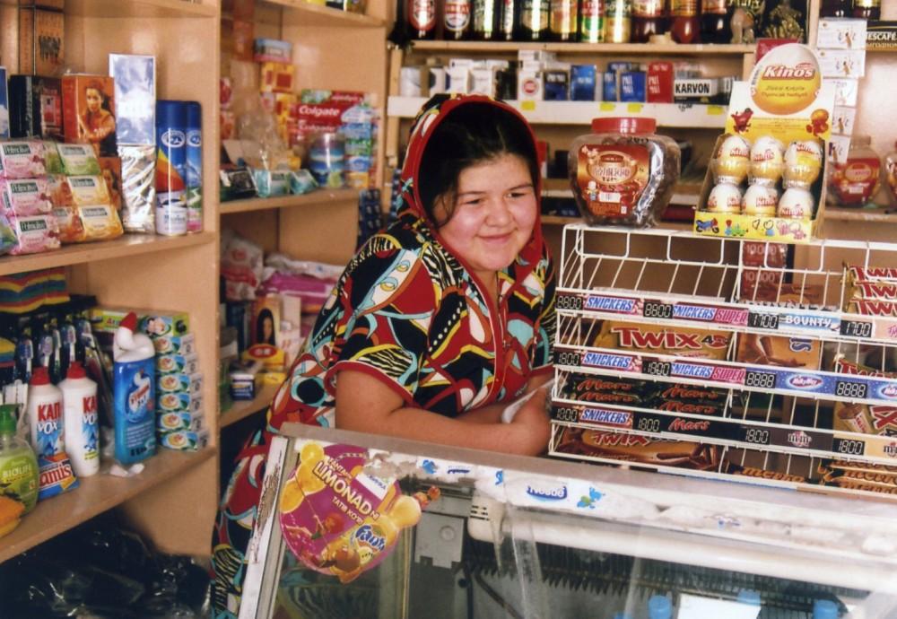 売店の女の子