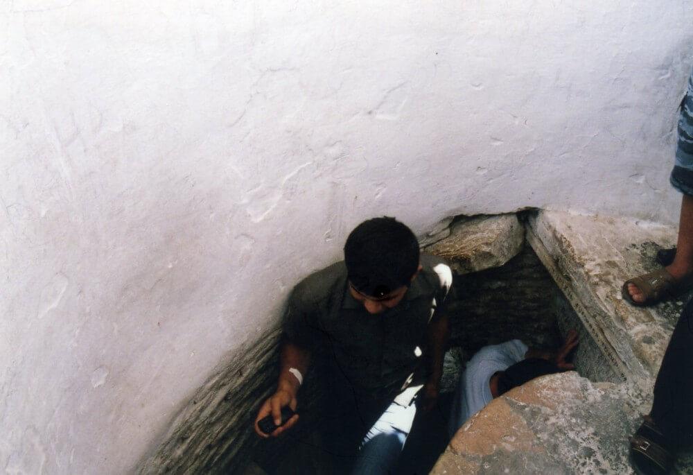 イスラーム・ホジャ・メドレセのミナレットを登る