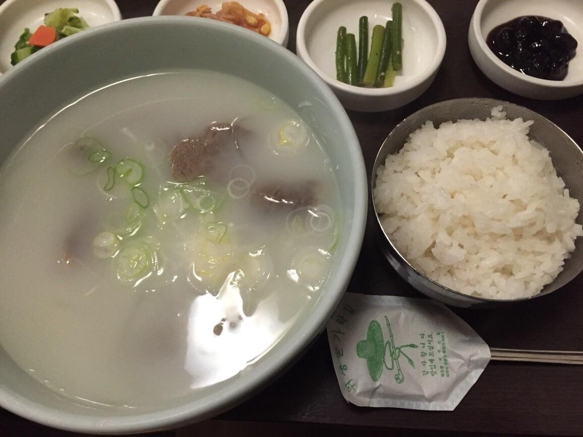 韓国の滋養食ソルロンタン『赤坂一龍』@赤坂
