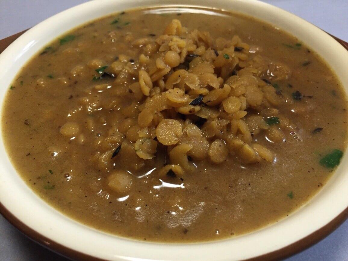 【レシピ】インド料理、ダール(豆カレー)を作りました!