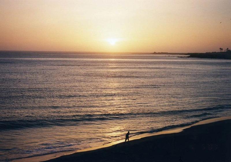 ダカールの夕陽