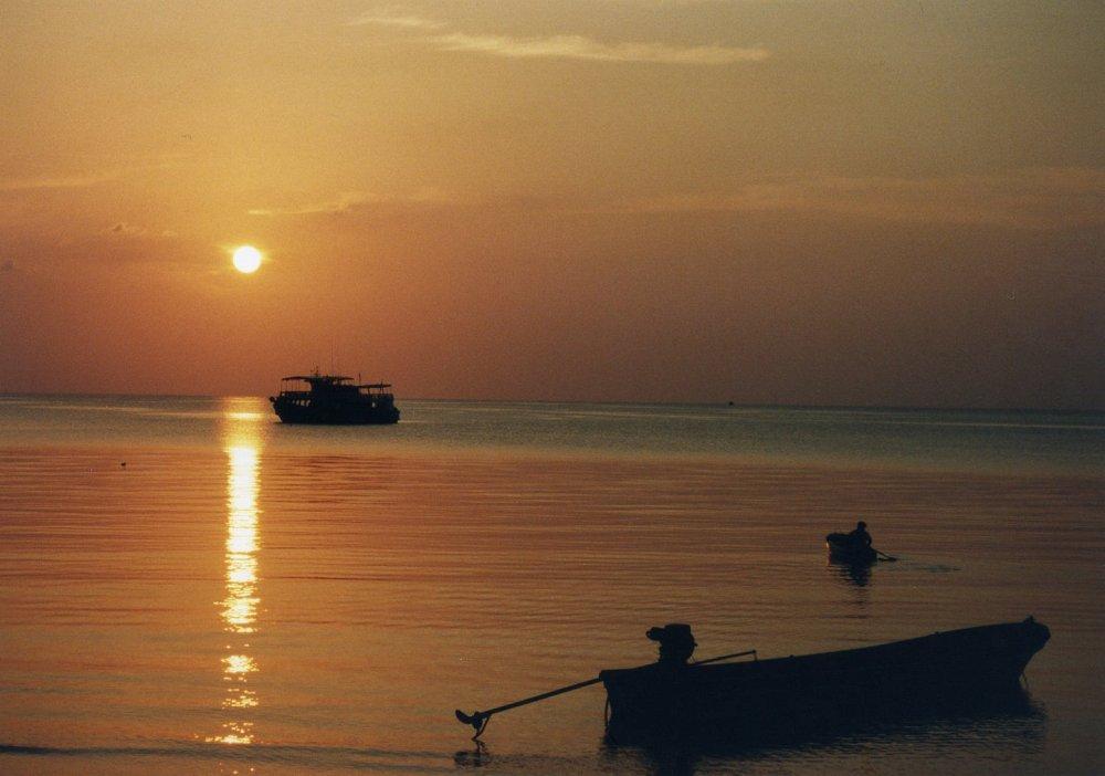 コタオの夕陽