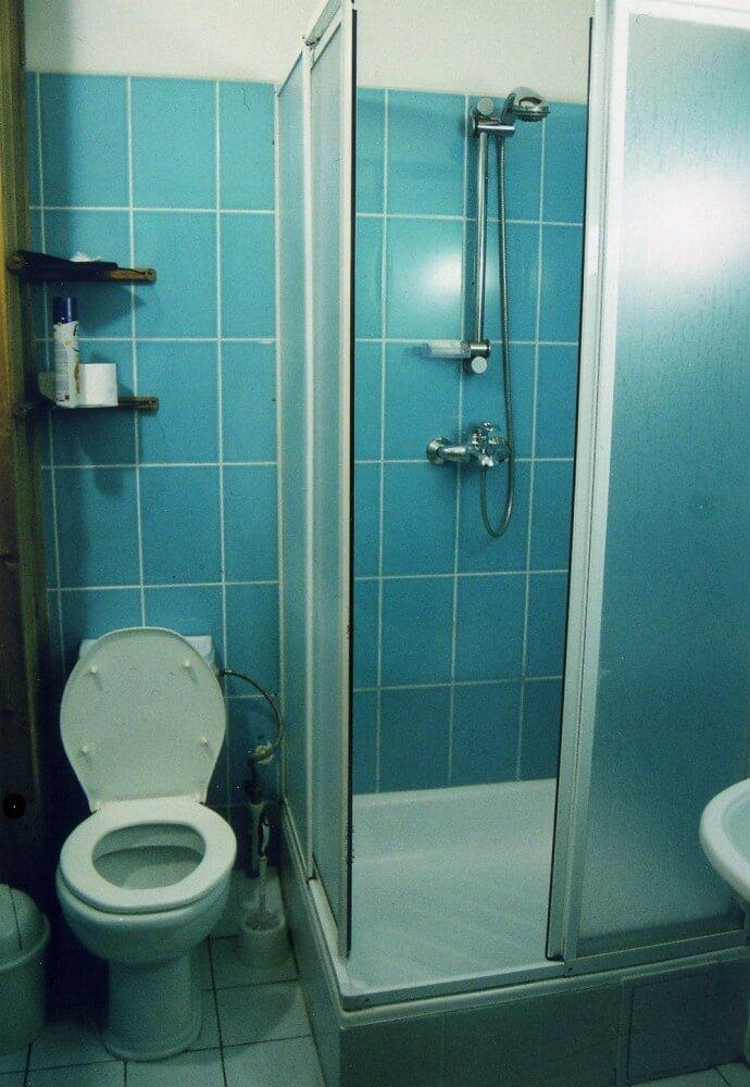 ホテル、グランドオルズのトイレとバス【ウズベキスタン(タシケント)】