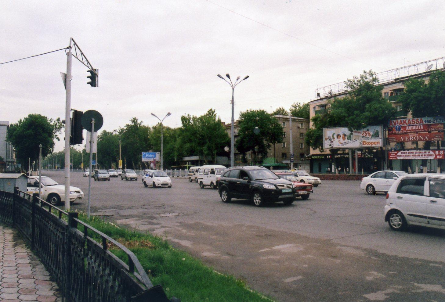 ウズベキスタンの首都、タシケントの街【ウズベキスタン(タシケント)】