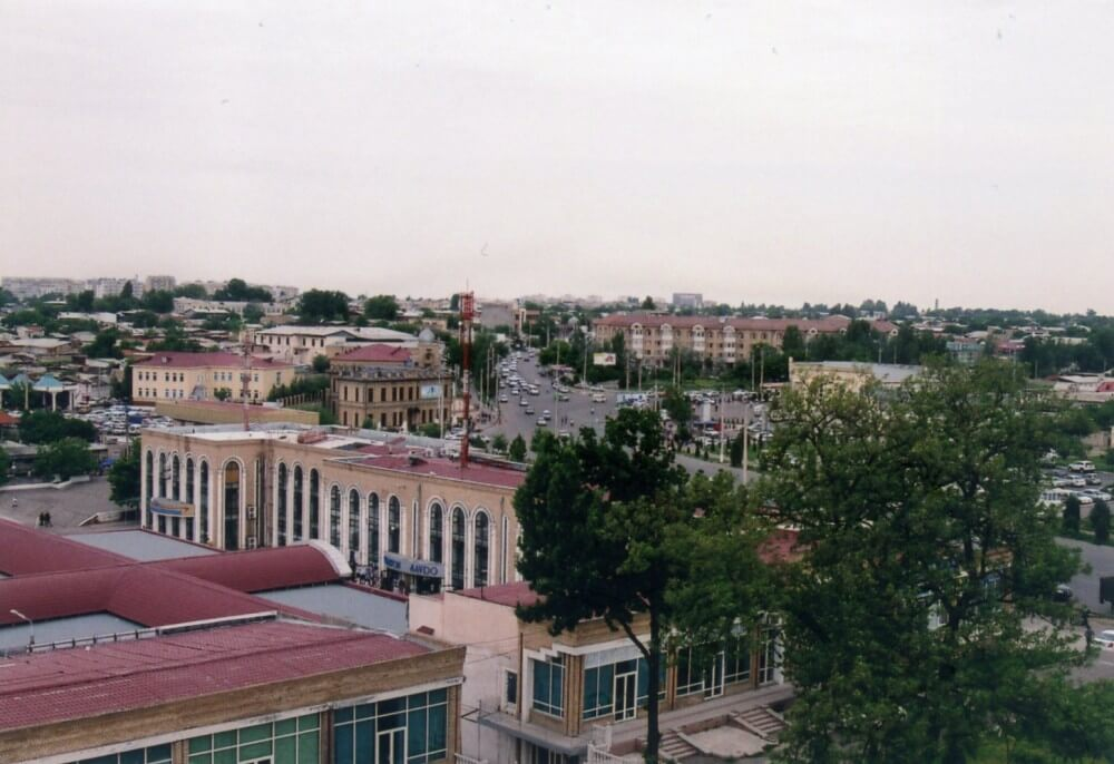 塔の上からタシケントの街を眺める【ウズベキスタン(タシケント)】