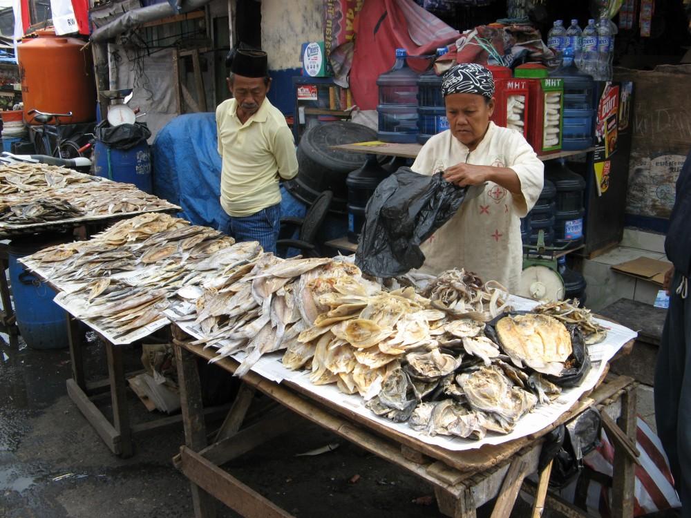 パサール・イカン(魚市場) ジャカルタ