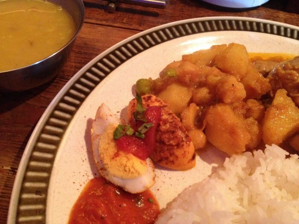 美味しいダルバートが食べられるオシャレなBAR『ソルティーモード』@恵比寿