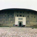 20世紀に建てられたモダンな土楼「振成楼」(客家土楼)【中国福建省】