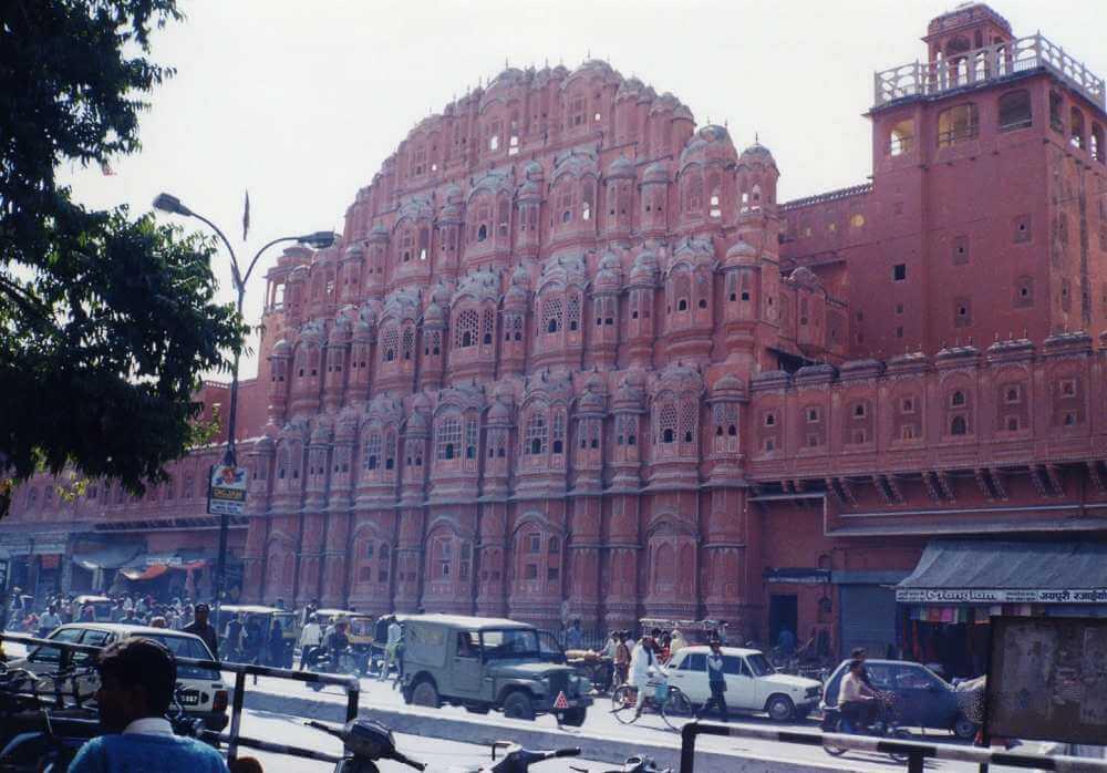ピンクに彩られた町、ジャイプール(ピンクシティー)【インド・ラジャスタン】