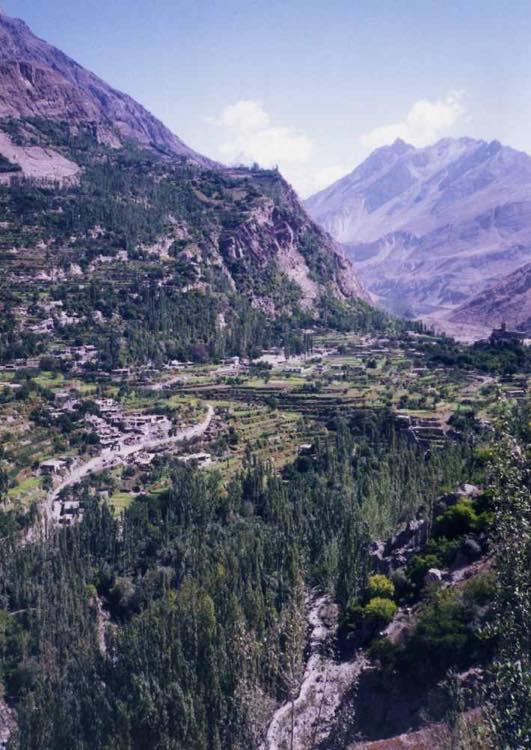 パキスタン フンザ アルチット