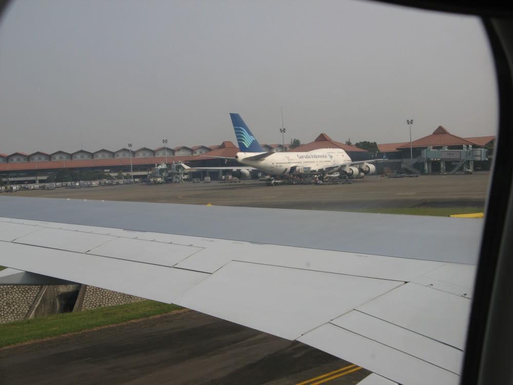 インドネシア ジャカルタ到着