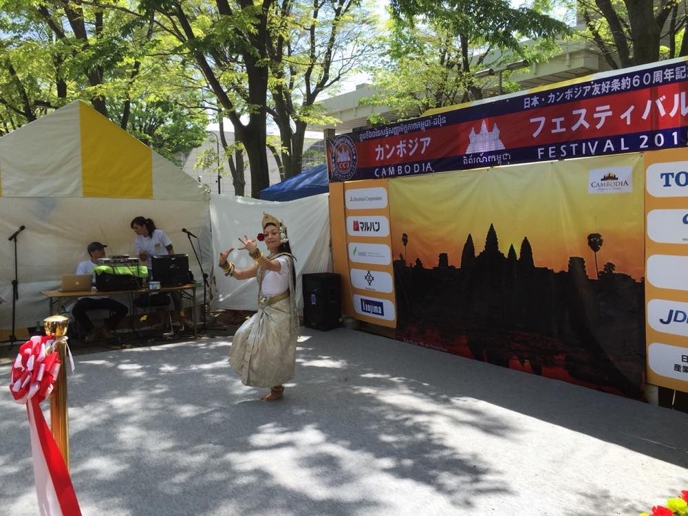 ソンクランフェスティバル&カンボジアフェスティバル