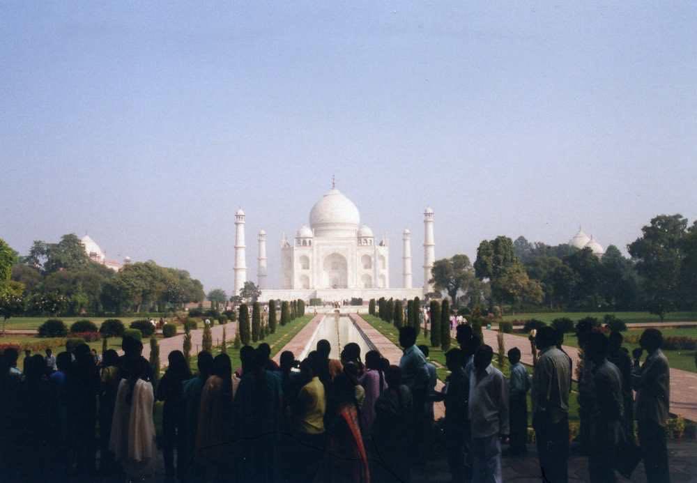 タージマハル アグラ インド