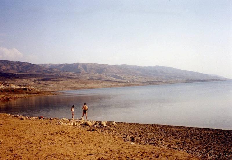ヨルダン 死海