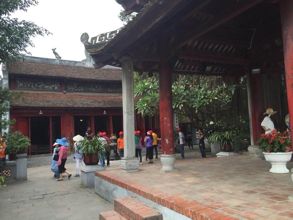 ベトナム4 ハノイ旧市街 ホアンキエム湖 玉山祠