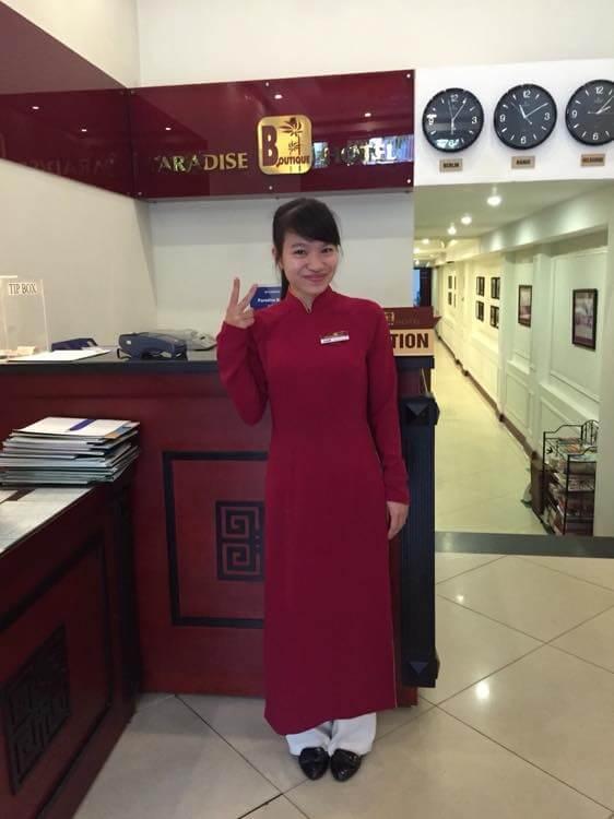 ベトナム5 ハノイ パラダイスブティックホテル