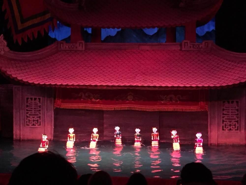 ベトナム5 ハノイ タンロン水上人形劇