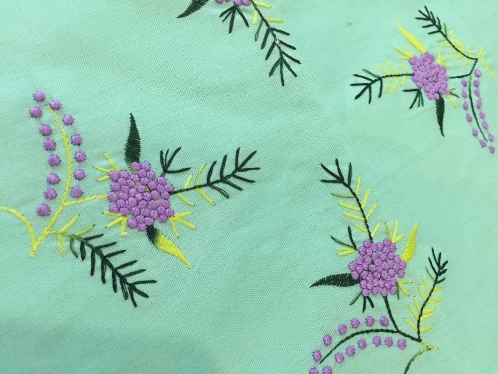 ベトナムお土産 刺繍巾着【お土産】