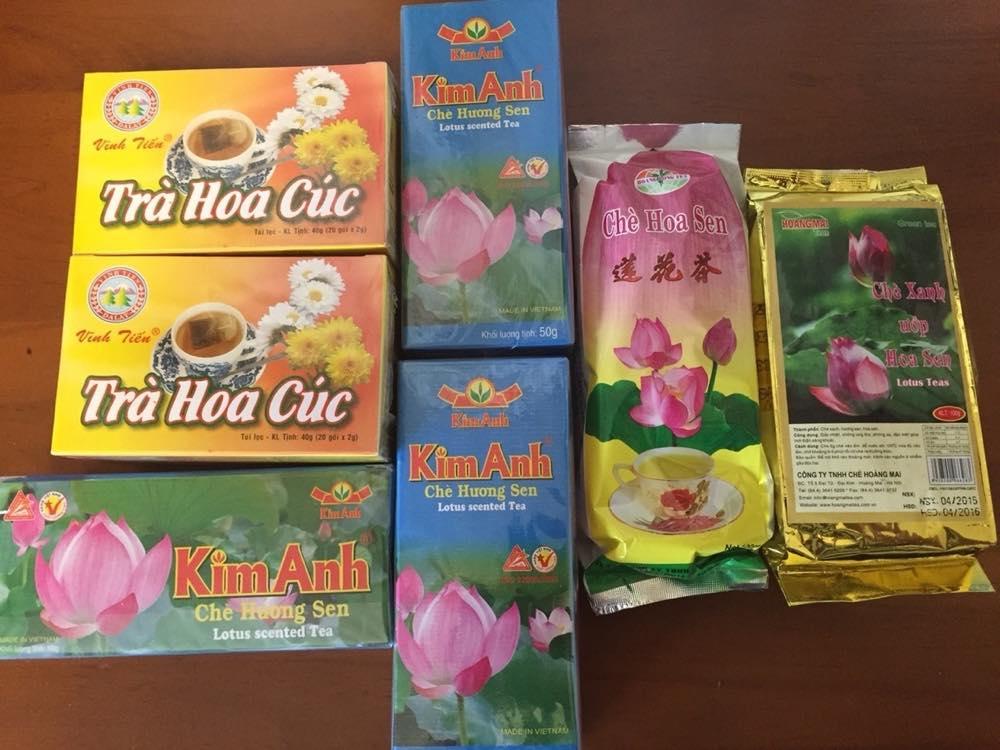 ベトナムお土産 ハス茶、菊茶