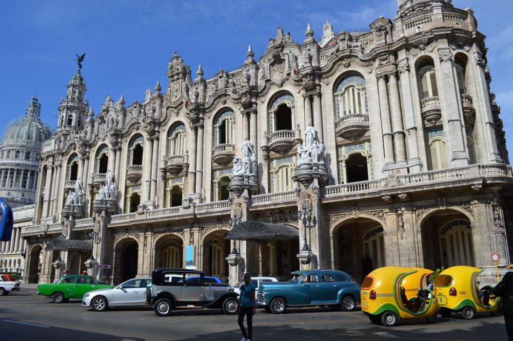 ガルシア・ロルカ劇場、ハバナ旧市街 【キューバ Cuba】