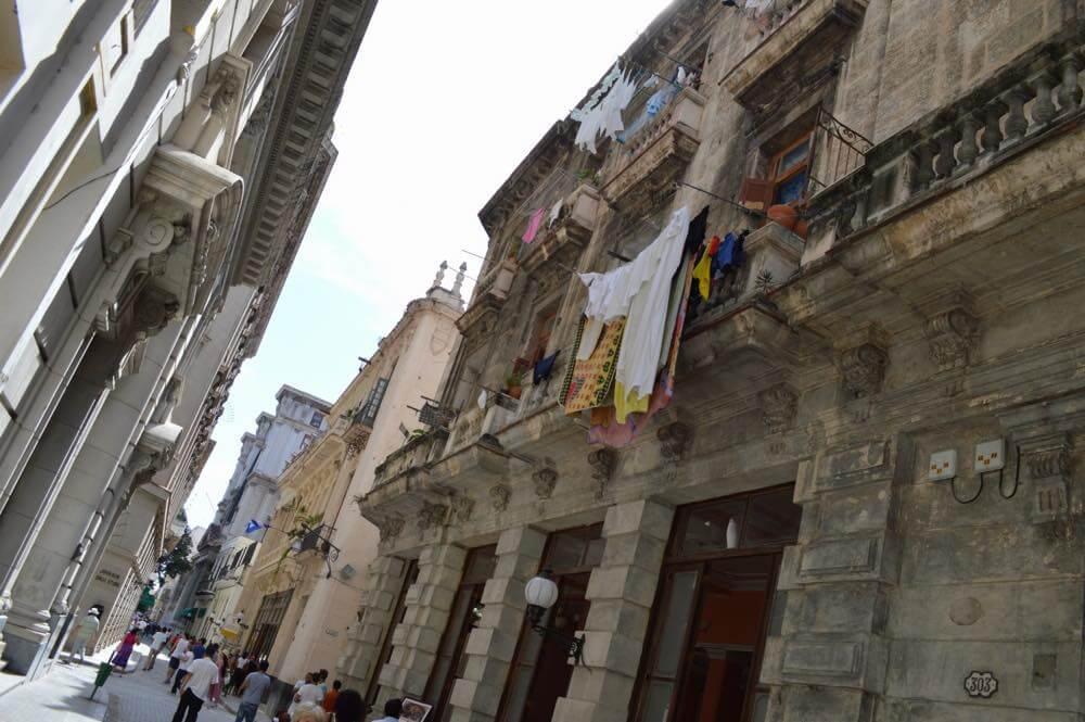 オビスポ通り、ハバナ旧市街 【キューバ Cuba】