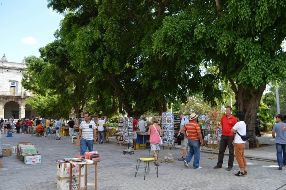 アルマス広場、ハバナ旧市街 【キューバ Cuba】