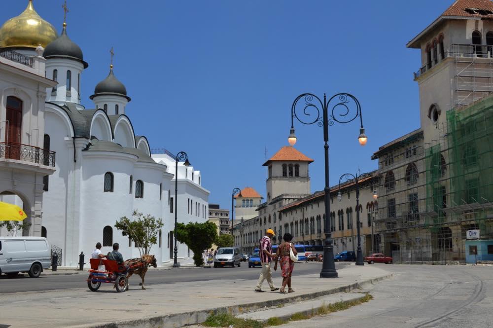 ロシア正教会の聖堂、ハバナ旧市街 【キューバ Cuba】