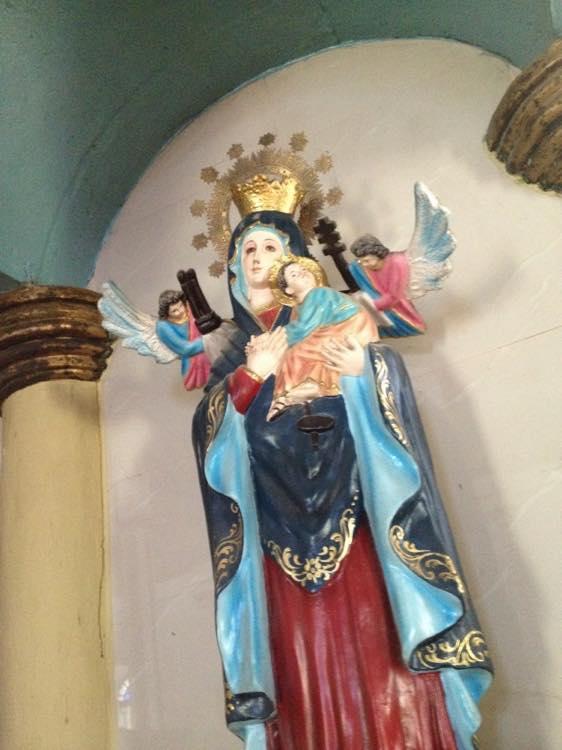 フィリピン、ラワグ。パウアイにある世界遺産の教会、サン・アウグスチン教会