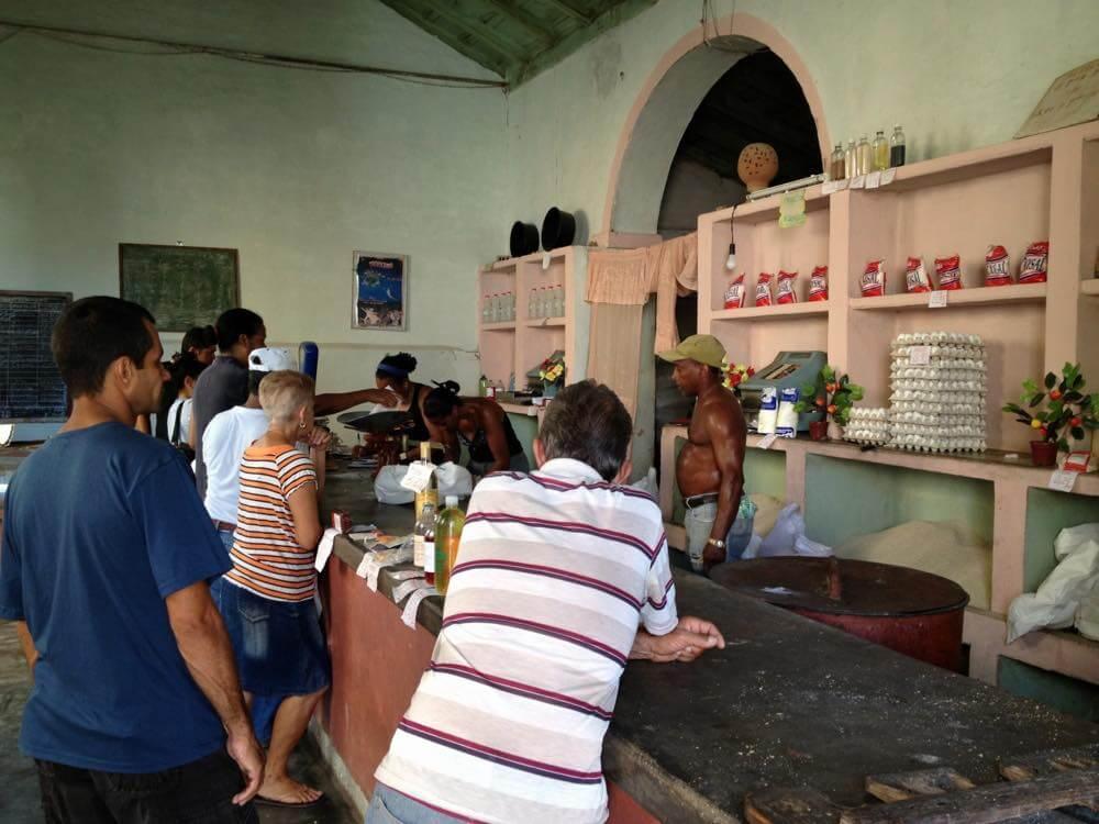 雑貨屋、トリニダーの風景 【キューバ Cuba】