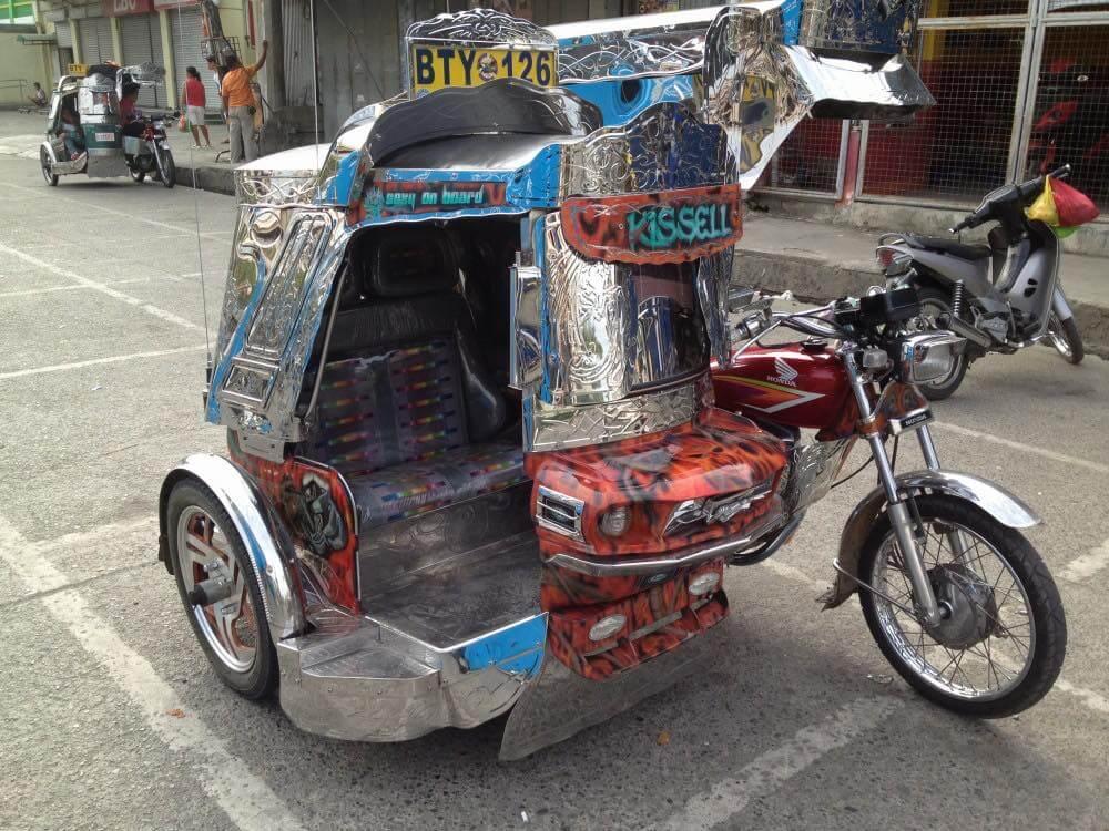 フィリピン、ビガン。フィリピン、ビガンのトライシクル