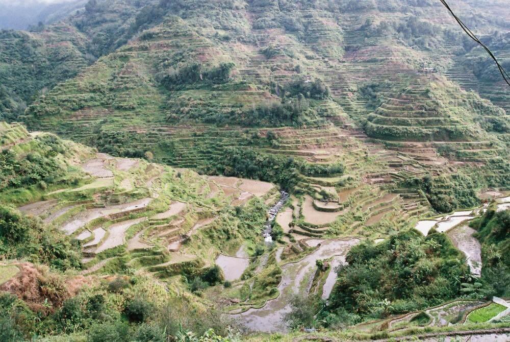 フィリピン、バナウェ。翌日、バナウェビューポイントへ向かう。