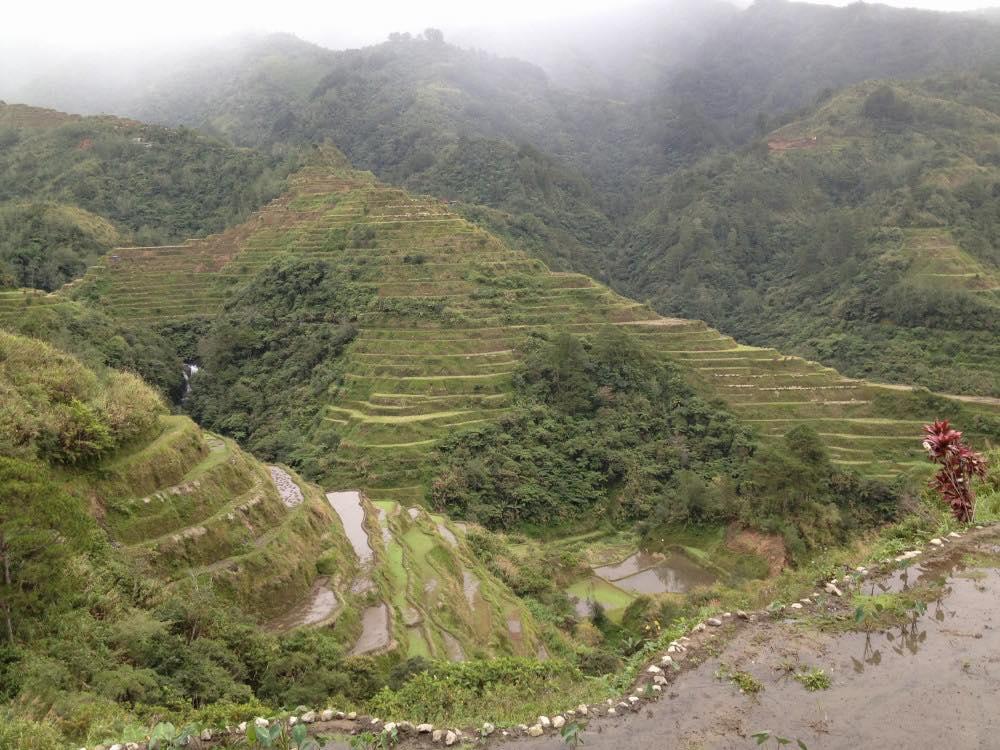 フィリピン、バナウェ。バナウェビューポイント 【世界遺産】
