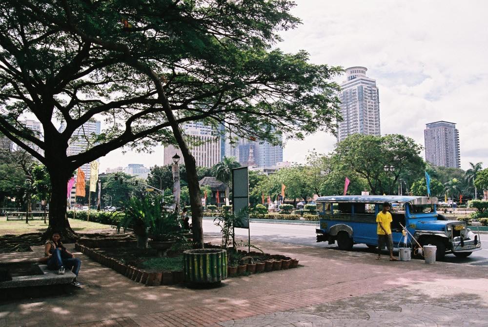 フィリピン、マニラ。リサール公園