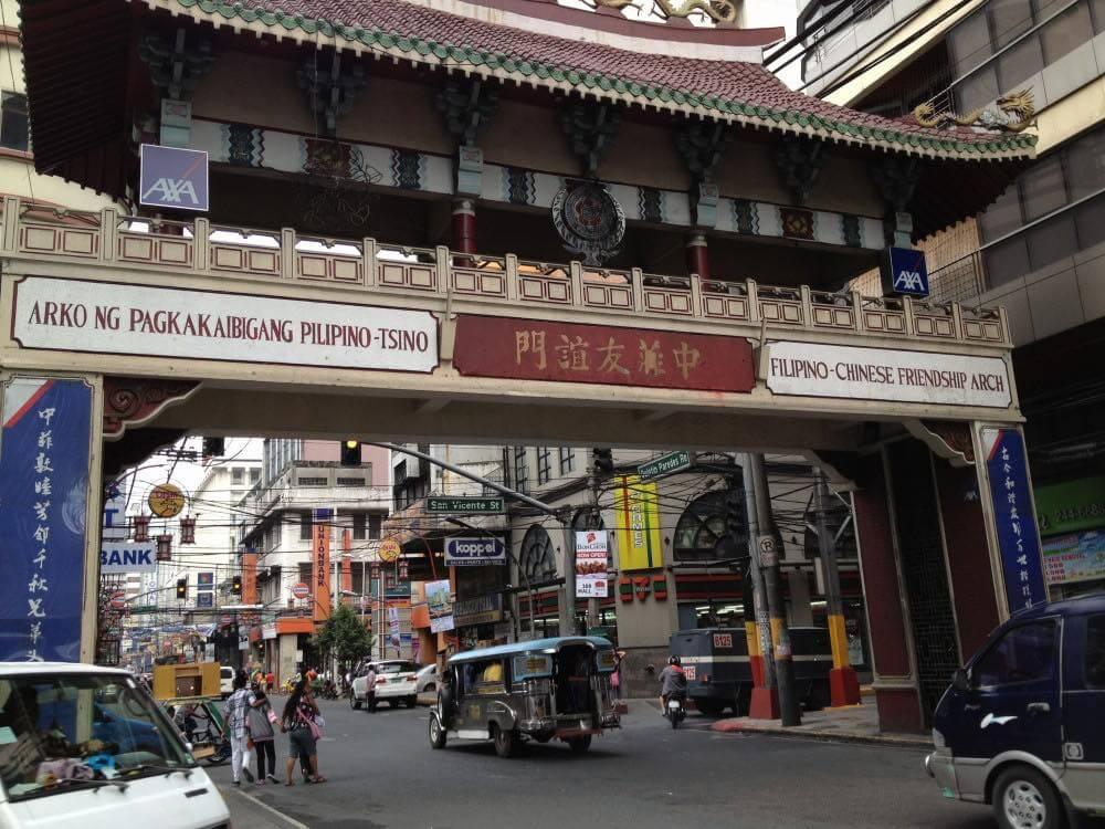フィリピン、マニラ。チャイナタウン