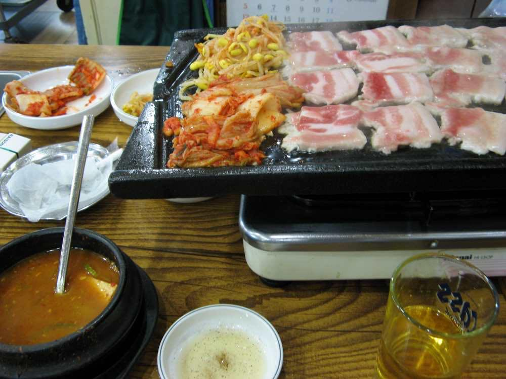 韓国料理【韓国、ソウル】