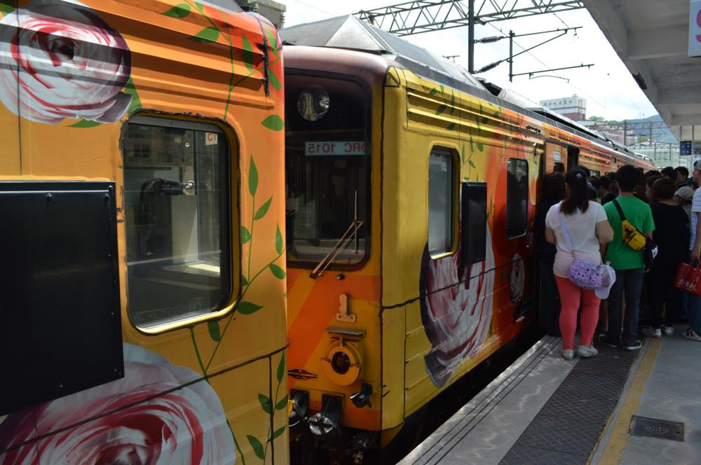 瑞芳駅の様子【台湾】