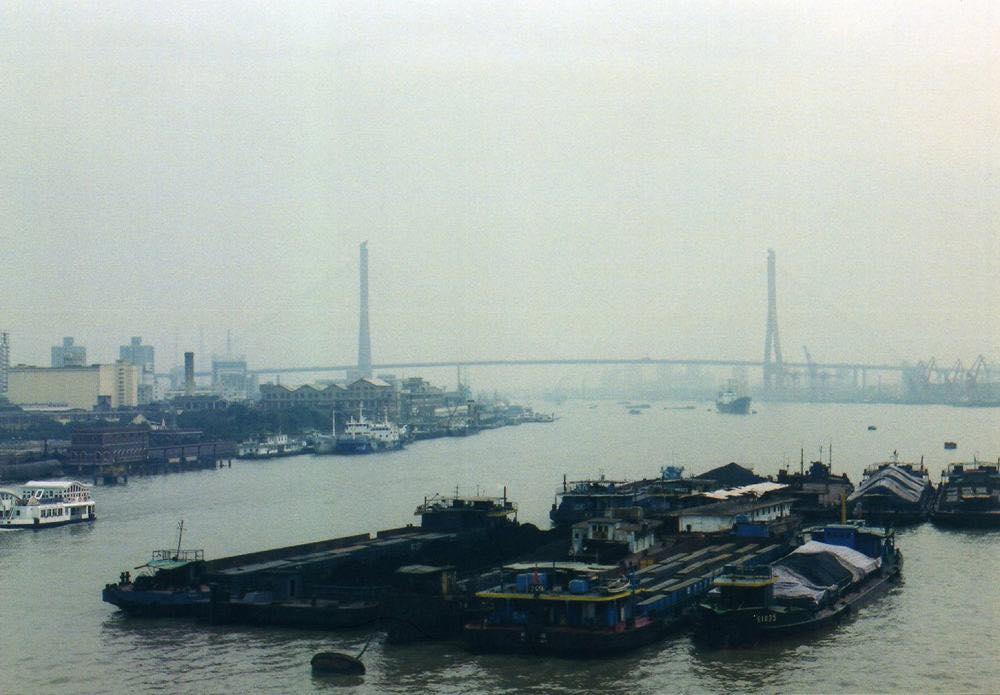 黄浦江の眺め 【上海】