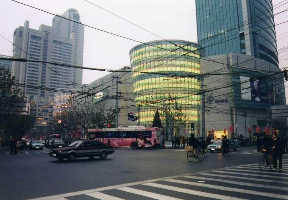 上海の街角 【中国、上海】