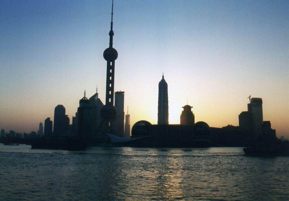 上海、外灘の朝【上海】