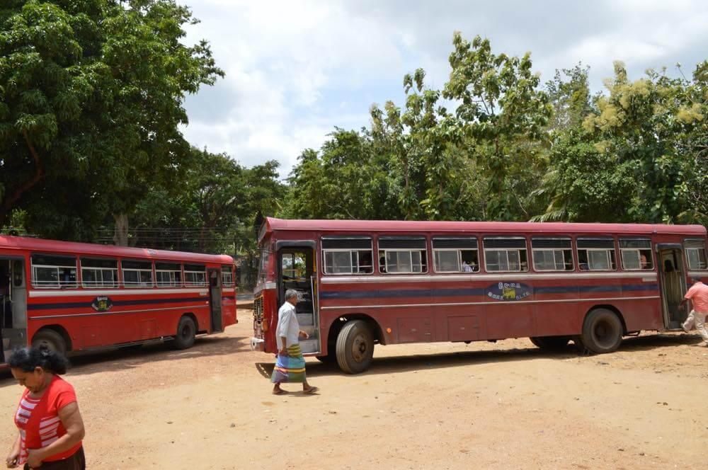 キャンディからバスでシーギリヤへ【スリランカ】