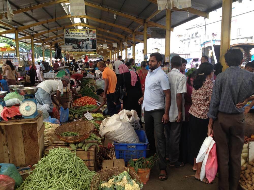 ペター地区のマーケット【スリランカ】