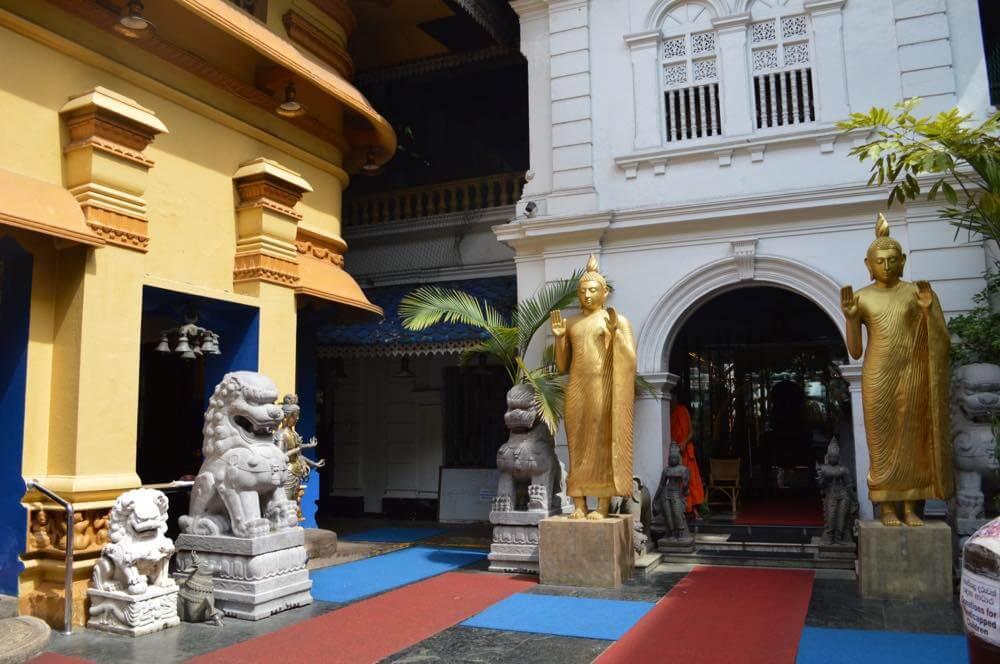 コロンボ、ガンガラーマ寺院【スリランカ】