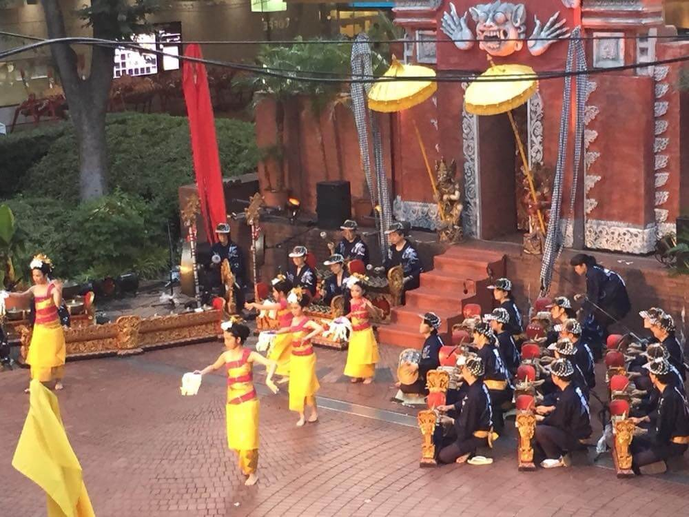 ケチャ祭り、芸能山城組