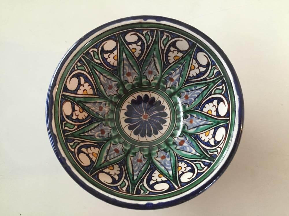 ウズベキスタン、ヒヴァの小皿【お土産】
