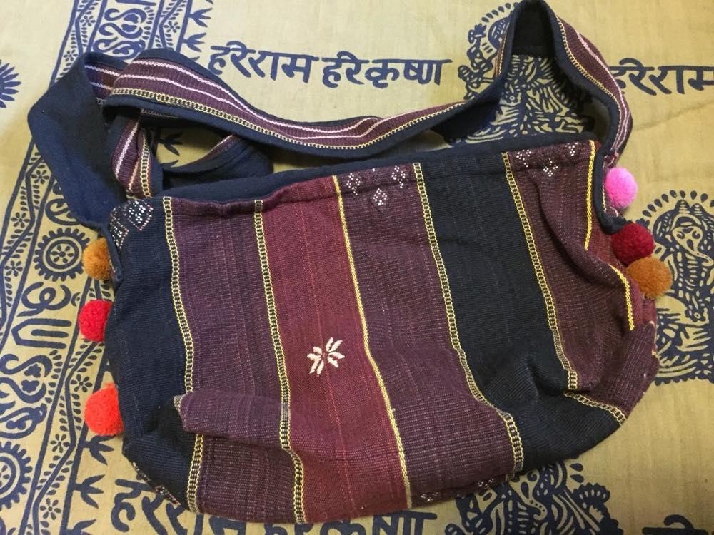 ミャンマー、カチン族のバッグ【お土産】