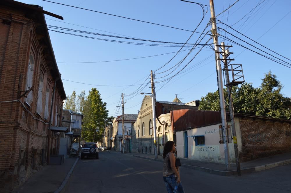 トビリシ旧市街、アブラヴァリの界隈【ジョージア(グルジア)Georgia:საქართველო】