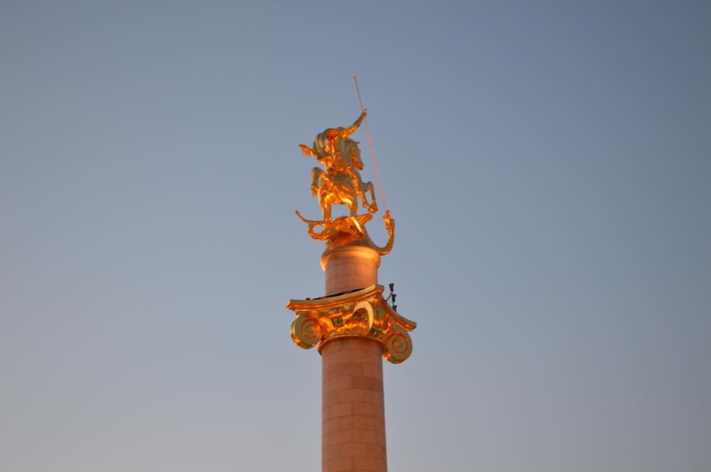 トビリシ、自由広場【ジョージア(グルジア)Georgia:საქართველო】
