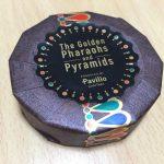 「黄金のファラオと大ピラミッド展」で買ったレーステープがカワイイ♪